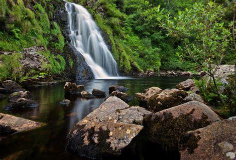 'assaranca Falls'  A Photo From Ardara In Donegal, Ireland