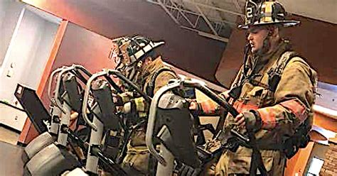 Firefighters Pay Tribute To 911 Heroes By Climbing 110