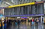 Airport Departure Board Frankfurt Germany Photograph by ...