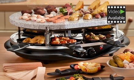 Cooks Professional Raclette Grill   Groupon Goods