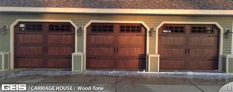 Woodtone  Carriage House  Options  Geis Garage Doors