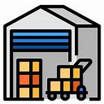 Warehouse Icon Stocks Icons Delivery Logistics Storehouse