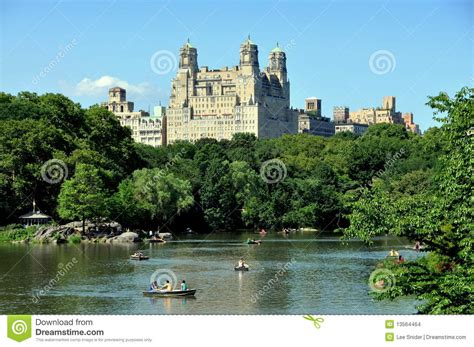 Central Park Boating Price by Nyc Central Park Boating Lake Editorial Stock Image