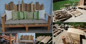 outdoor sofa holz 50 wonderful pallet furniture ideas and tutorials