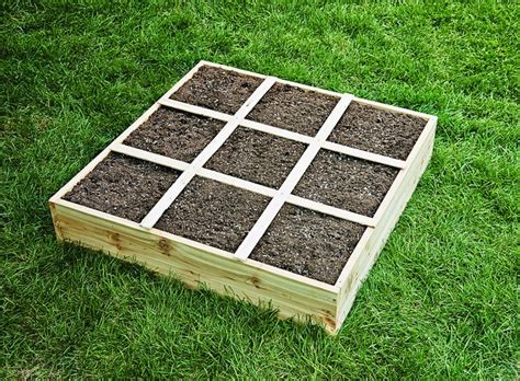 Build A Garden by How To Build A Square Foot Garden Box Easy Step By Step