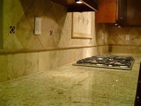 detail of backsplash in livermore ca kitchen stocker tile