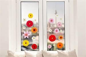 Frühlingsdekoration Ideen Fürs Fenster : pixblick fenstersticker bunte blumenmischung fr hlings deko fr hling fensterbank deko ~ Orissabook.com Haus und Dekorationen