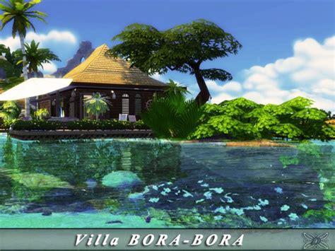 sims resource villa bora bora  danuta sims