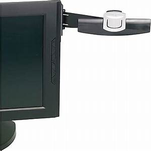 3m copyholder monitor mount clip 30 sheet capacity With document clip for computer monitor
