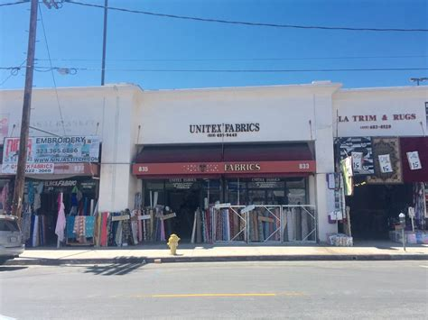 unitex fabrics fabric stores 835 wall st downtown