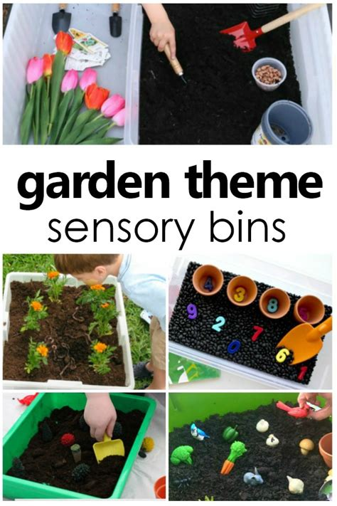 gardening sensory bins 898 | Garden Sensory Bins for Spring and Summer Sensory Play summer spring gardentheme preschool kinder