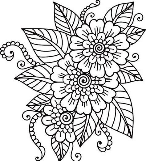 Coloring Bunga ahmedatheism mewarnai gambar pemandangan hitam putih