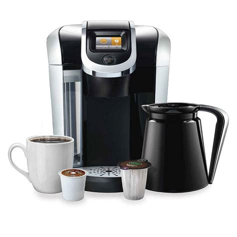 Furthermore, dual coffee makers give you the added benefit of brewing a full pot rather than just a single serving. Keurig 2.0 K560 K-Cup Machine Coffee Maker Brewer K550 & K ...