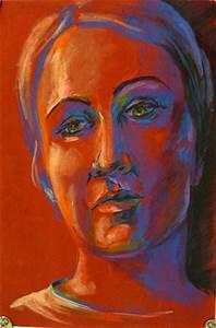 self portrait in pastels lesson