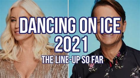 Dancing On Ice 2021 line up so far - Gloucestershire Live