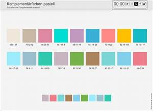 Ral Ncs Tabelle : farbenschule komplement rfarben pastell ~ Markanthonyermac.com Haus und Dekorationen