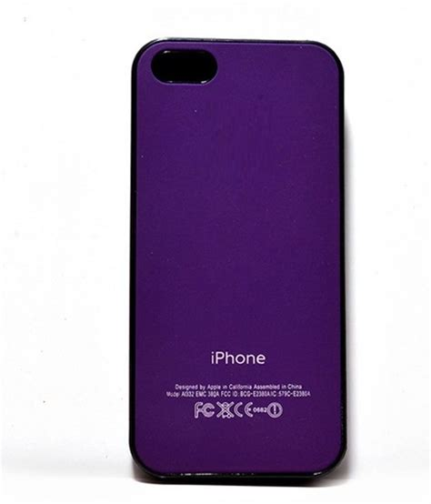 iphone 5g chor back cover for apple iphone 5g 5s purple buy