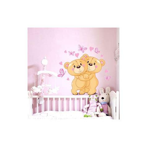 stickers chambre de bébé stickers ourson chambre bébé livraison en 48h