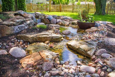 aquascape patio pond australia how a pondless waterfall created an outdoor retreat