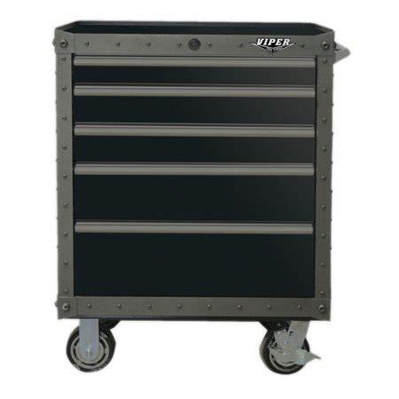 Viper Cabinet - viper tool storage armor series 26 wide 5 drawer bottom