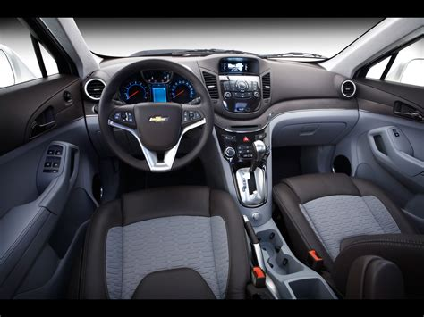 chevrolet orlando show car interior