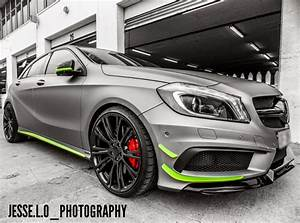 Mercedes A45 Amg Tuning : matte grey mercedes benz a45 amg looks brilliant with ~ Jslefanu.com Haus und Dekorationen