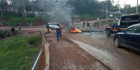 Protests Erupt In Kisii Ahead Of Deputy President William ...