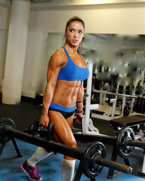 10 hottest pictures of Andreia Brazier - Muscle - Strength