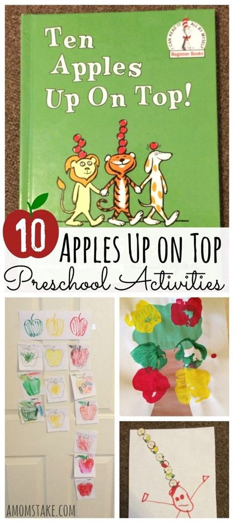 10 apples up on top preschool activities crafts recipes 521 | 724bd5f339c1fe9bd7c7e8f8cef7e739