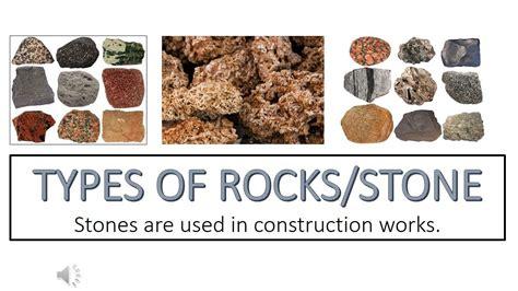 Types Of Rocks  Stones  Rock Classification  Rock