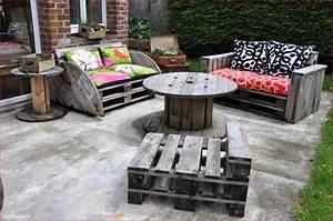 Salon De Jardin Romantique : deco jardin design images et tourdissant deco jardin ~ Dailycaller-alerts.com Idées de Décoration