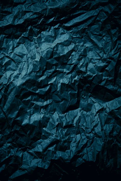 blue textile paper texture crumpled hd wallpaper