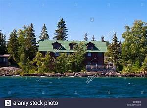 The Rock Harbor Lodge, Isle Royale National Park, Michigan ...