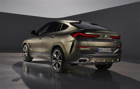 2020 Bmw X6 by 2020 Bmw X6 Revealed Topped By M50i Performancedrive