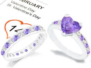 purple engagement ring purple sapphire and engagement rings wedding rings