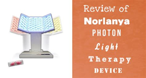 photon light therapy norlanya photon led light therapy review