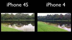 iPhone 4S VS. iPhone 4 Camera Quality Test - YouTube