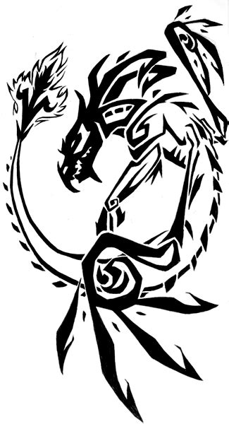dragon names and their meanings | Latin Phrases Tattoos, designs: Gagandeep's blog | Tribal art