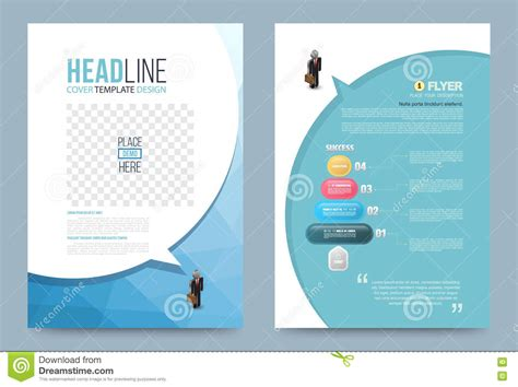 Printing Press Brochure Template by Template Design Stock Vector Image 74353776