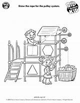 Simple Science Machines Machine Draw Pulley Fun Printables Way Grade Kid Sid Projects Pbs Physics 4th Activities Teaching Visit Class sketch template