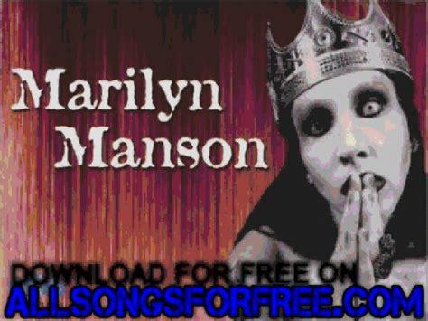 marilyn manson strange  dogma lunch box white