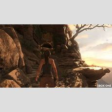 Rise Of The Tomb Raider  Xbox One Vs Pc In Gameplay