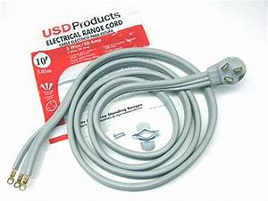 Compare Price  50 Amp 3 Wire Range Cord