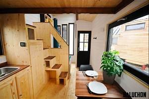 Tiny Houses De : tiny house fabriqu e en france le projet baluchon ~ Yasmunasinghe.com Haus und Dekorationen