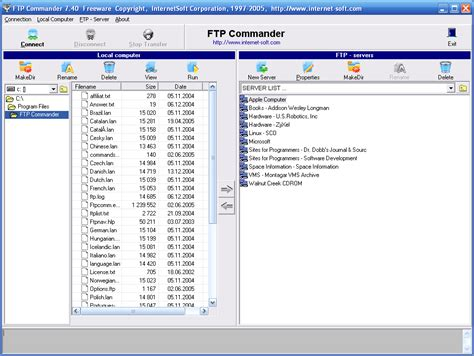 free ftp put command replace file programs