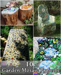 10 Garden Mosaic Projects - DIY Craft Projects
