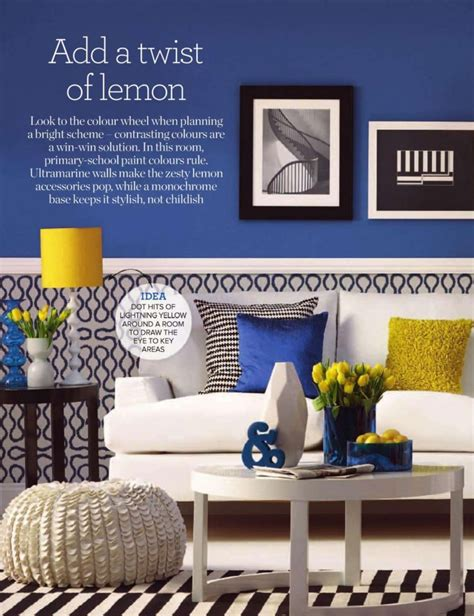 lemon twist interiors  color