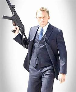 Daniel Craig Casino Royale Suit - Blue Three Piece Suit