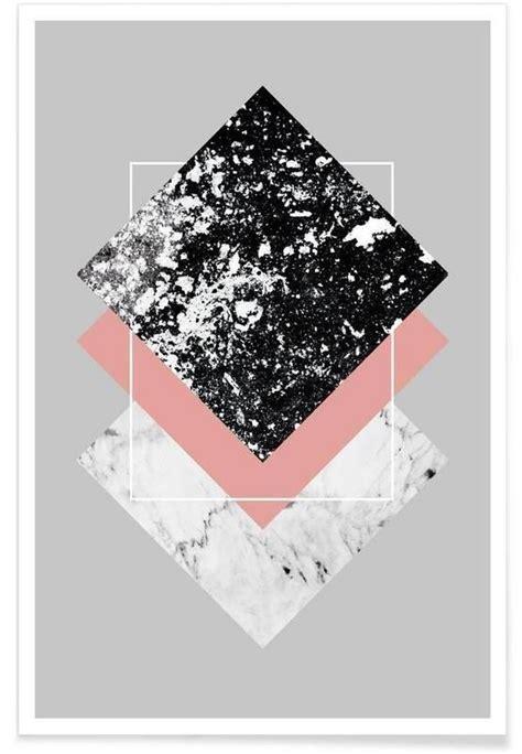 Geometric Textures 1 Als Premium Poster Von Mareike Böhmer