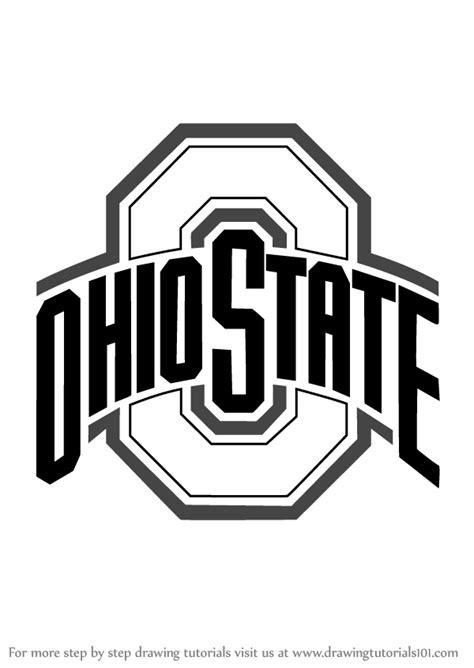 Step by Step How to Draw Ohio State Buckeyes Logo ...